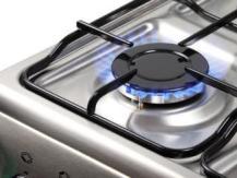 Cuisinière avec système de contrôle de gaz