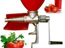 Variétés de jus de tomates