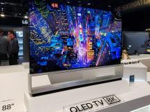 Début des ventes des plus grands téléviseurs de LG