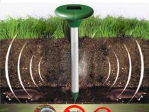 Mole Repeller sauve votre jardin de leur invasion
