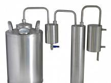 Dispositif d'origine - le barboteur remplace le réservoir de vapeur