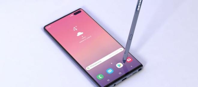 On a appris à quoi ressemblerait le Samsung Galaxy Note 10