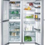 Réfrigérateur intelligent à double aile - confort maximal dans la cuisine