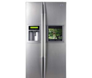 largeur standard du réfrigérateur