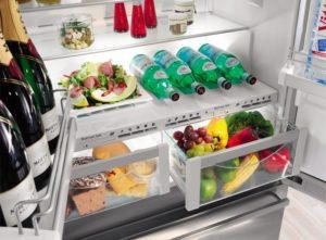 étagères pour frigo