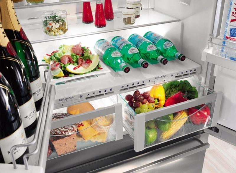 étagères pour réfrigérateur