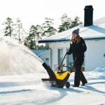 Souffleuses à neige à essence - une aide idéale dans la lutte contre le dérapage