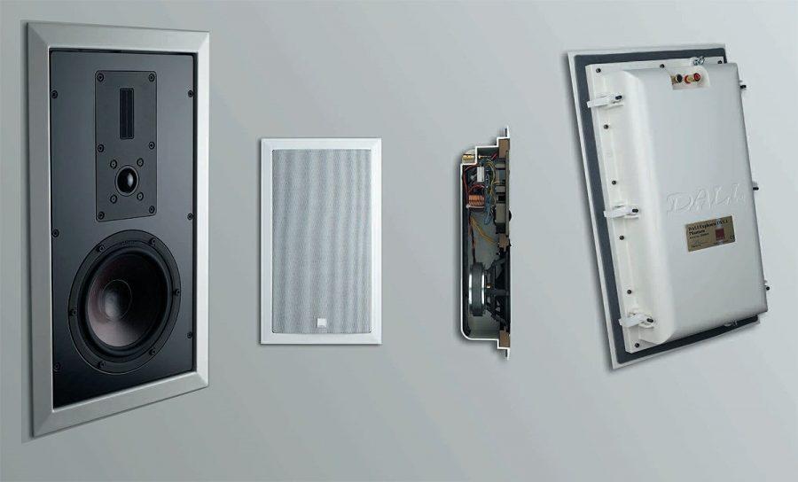 Installation de l'acoustique intégrée