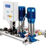 Station de pompage pour augmenter la pression dans l'alimentation en eau des logements privés