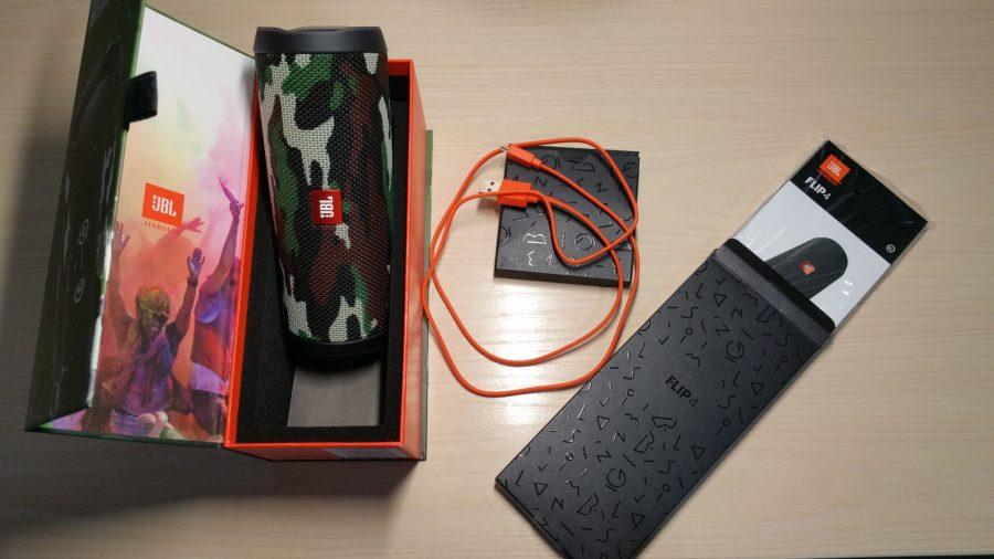 jbl flip 4 équipement