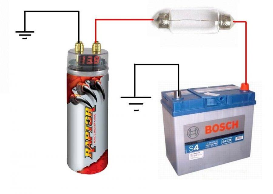 condensateur pour subwoofer